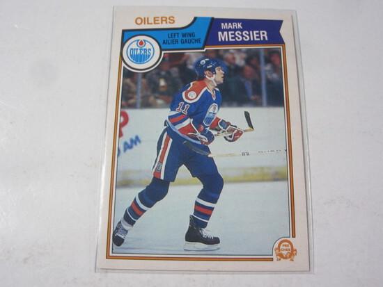 Mark Messier Edmonton Oilers 1983-84 O-Pee-Chee #39