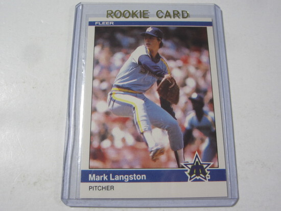 Mark Langston Seattle Mariners 1984 Fleer Update ROOKIE #U-70