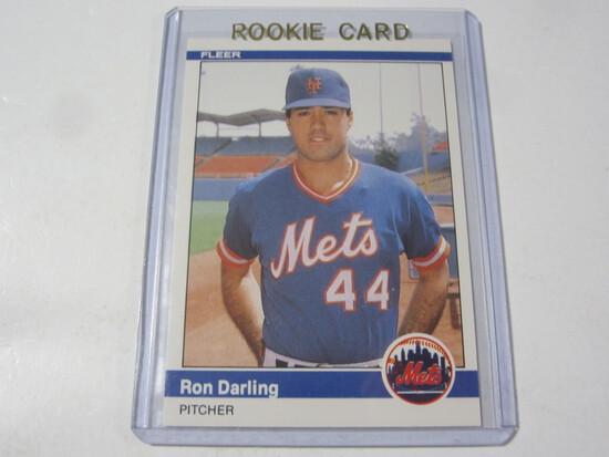 Ron Darling New York Mets 1984 Fleer Update ROOKIE #U-29