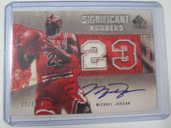 Michael Jordan Chicago Bulls Significant Numbers SP  REPRINT