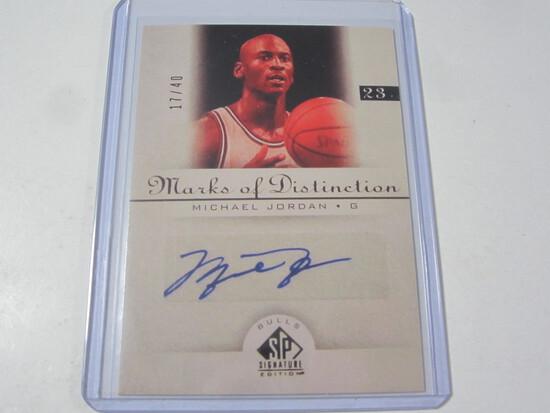 Michael Jordan Chicago Bulls SP Signature Edition Marks of Distinction Reprint