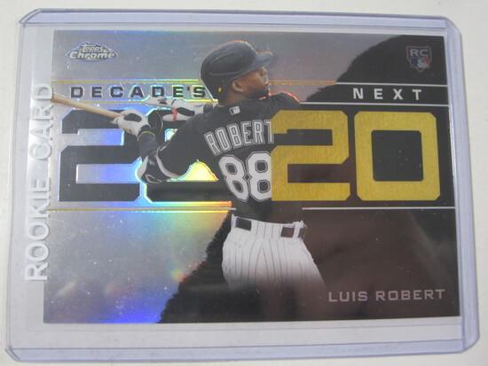 Luis Robert Chicago White Sox 2020 Topps Chrome ROOKIE Decades Next DNC-2
