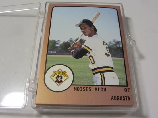 1988 South Atlantic League Augusta Team Set Pittsburgh Pirates Moises Alou Orlando Merced +more