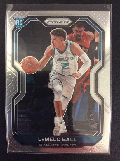 2020-21 Prizm basketball LaMelo Ball RC