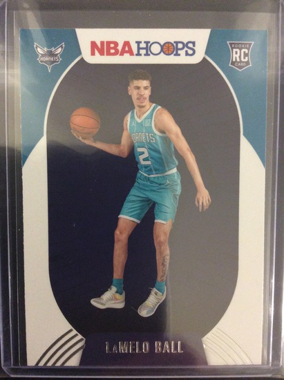 2020-21 NBA Hoops LaMelo Ball RC