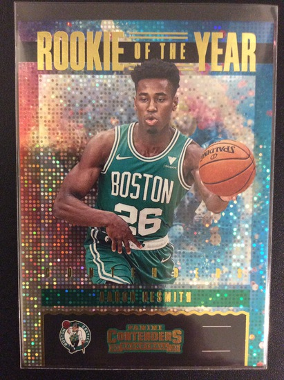 2020-21 Contenders basketball Aaron Nesmith Rookie of the Year SP