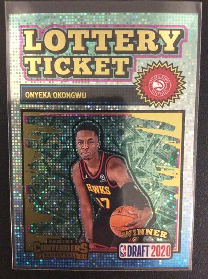 2020-21 Contenders basketball Onyeka Okongwu Lottery Ticket SP