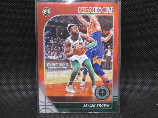 2019/2020 Jaylen Brown NBA Hoops Premium Stock Red