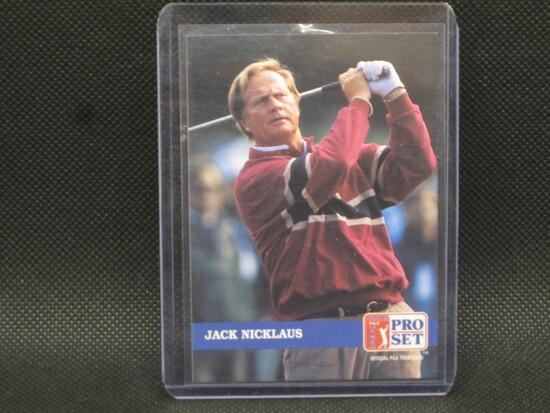1992 PGA Tour Pro Set Jack Nicklaus card