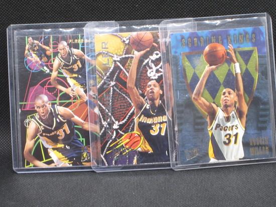 Lot(3) Reggie Miller Cards (2) 94,95 Fleer Inserts/ Scoring Kings Fleer Ultra Insert 95,96