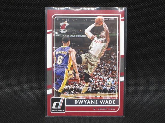 2015/2016 Dwayne Wade Panini Donruss Miami Heat #107
