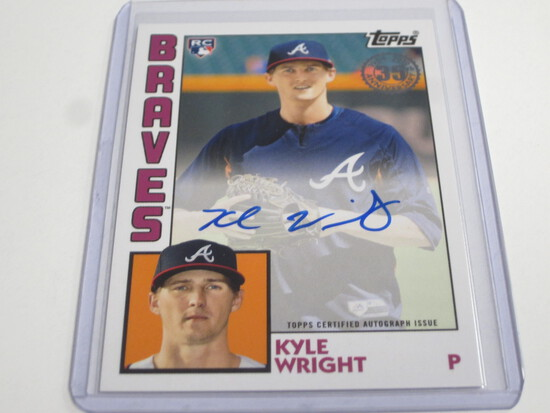 Topps Certified Kyle Wright Rookie Auto