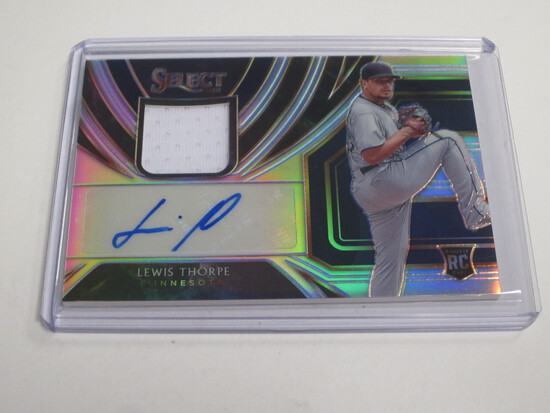 2020 Panini Select PAtch Auto /99 LEwis Thorpe ROOKIE