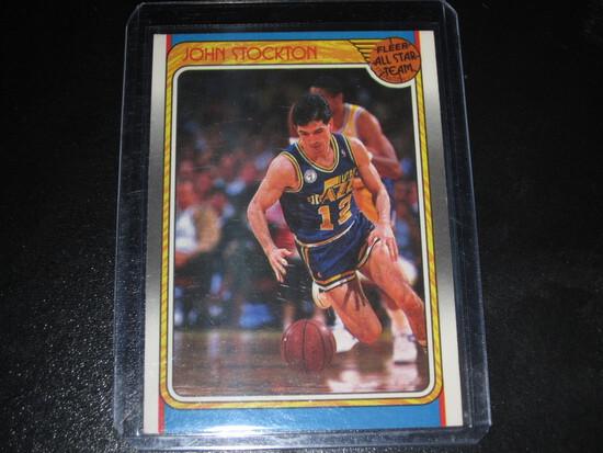 JOHN STOCKTON RC!/ROOKIE 1988 FLEER - ALL STAR GAME #127 TOP 50 GOAT HOF'ER!