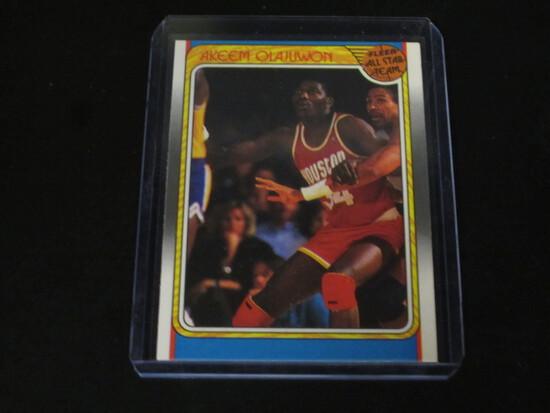 HAKEEM OLAJUWON 1988 FLEER ALL STAR TEAM #126 TOP 5 GOAT/HOF'ER!