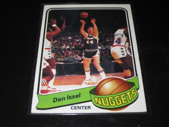 DAN ISSEL 1979 Topps Basketball Card #17 Dan Issel - Hall of Fame