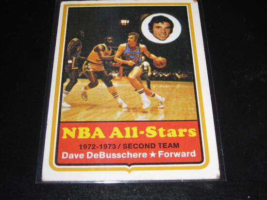 1973-74 Topps #30 Dave DeBusschere - NBA All-Stars 1972-73 Second Team