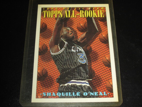 SHAQUILLE ONEAL 1993 TOPPS ALL ROOKIE #152 2ND YEAR CARD TOP 10 GOAT/HOF'ER WHEN ON THE MAGIC!