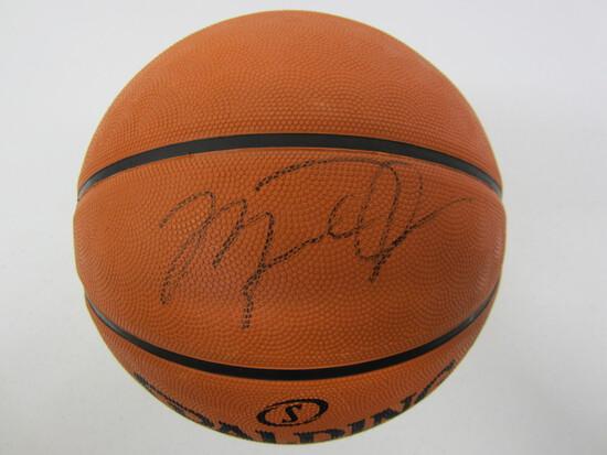 Michael Jordan Chicago Bulls signed autographed full size basketball Certified COA