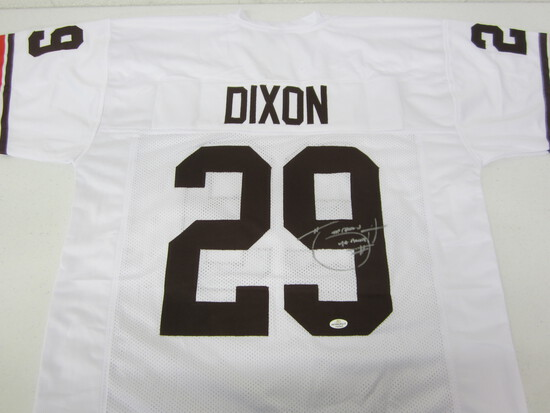 Hanford Dixon Cleveland Browns signed autographed football jersey Certified COA