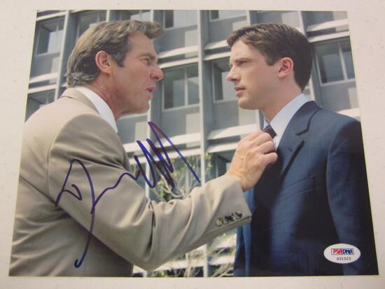 Dennis Quaid signed autographed 8x10 photo PSA DNA COA