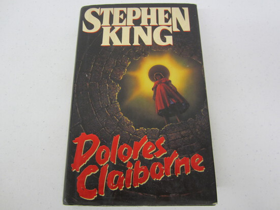 Stephen King signed autographed Delores Claiborne hard cover book Certified COA