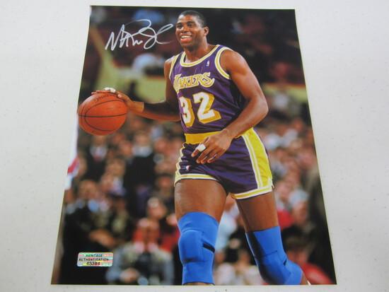 Magic Johnson LA Lakers signed autographed 8x10 photo Certified COA