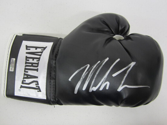 Mike Tyson signed autographed boxing glove Certified COA