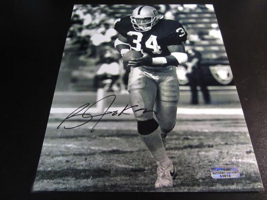 Bo Jackson signed 8x10 photo certified coa