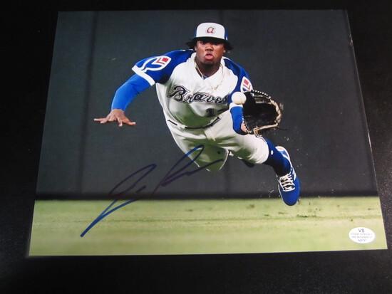Ronald Acuna Jr signed 8x10 photo certified coa
