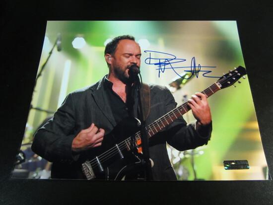 Dave Mathews signed 8x10 photo certified coa