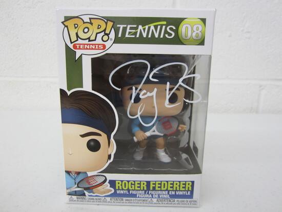 Roger Federer Signed Funko PoP WITH COA!