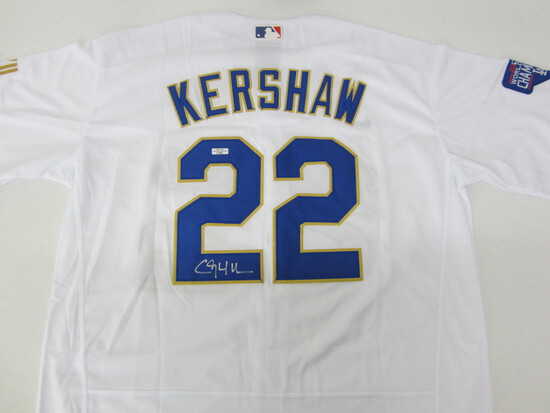 Clayton Kershaw Signed Jersey WITH COA! LA DODGER!