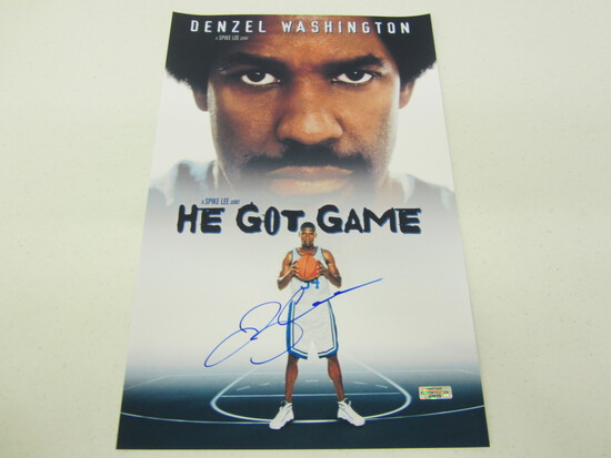 Ray Allen Signed 11x17 Poster WITH COA!