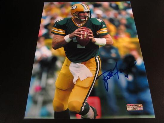 Brett Favre Packers HOFer 8x10 AutographedPhoto w/ COA