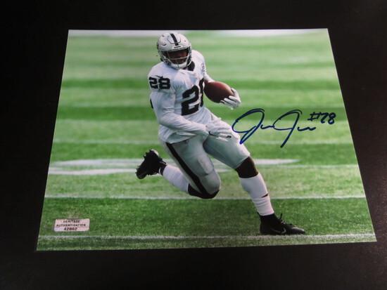 Josh Jacobs Raiders #28 8x10 Autographed Photo w/ COA