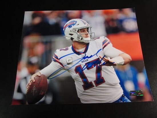 Josh Allen Buffalo Bills 8x10 Autographed Photo w/ COA