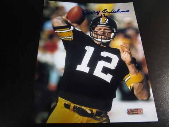 Terry Bradshaw Steelers HOFer 8x10 Autographed Photo w/ COA