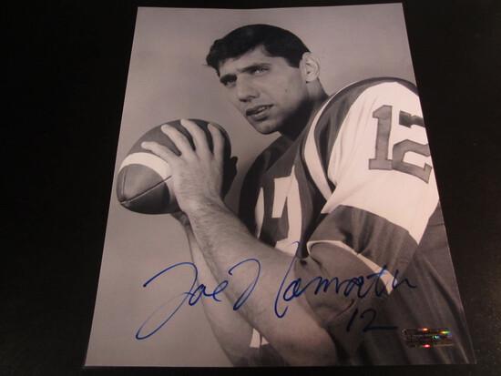 Joe Namath NY Jets HOFer 8x10 Autographed Photo w/ COA