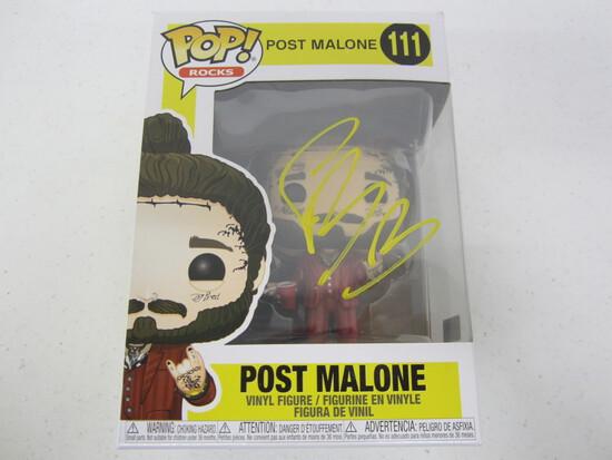 Post Malone signed autographed Funko Pop Vinyl Figure Certified COA