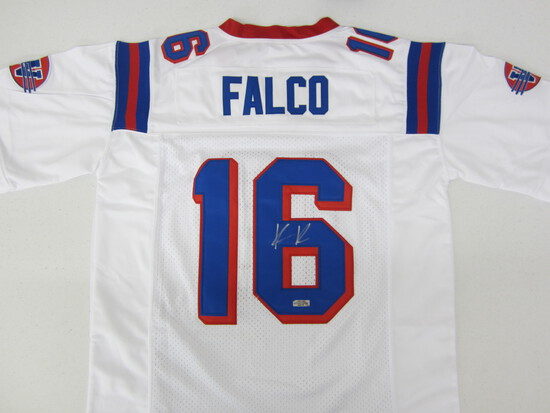 Keanu Reeves signed autographed FALCO football jersey Certified COA