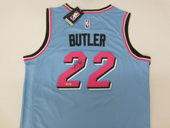 Jimmy Butler Miami Heat signed autographed basketball jersey Certified COA