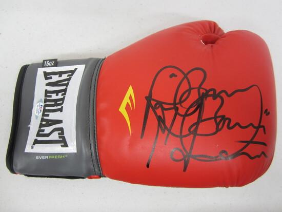 "Ray ""Boom Boom"" Mancini signed autographed boxing glove PSA COA"
