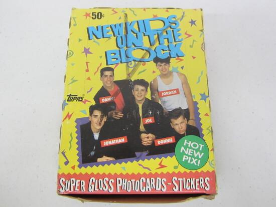 New Kids on the Block TOPPS full wax box 36 sealed wax packs