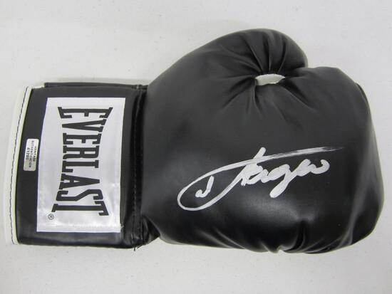Joe Frazier signed autographed boxing glove Certified COA