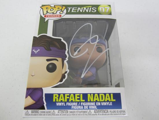 Rafael Nadal signed autographed Funko Pop vinyl figure Certified COA