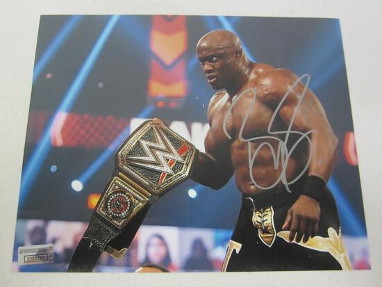 Bobby Lashley signed autographed 8x10 WWE photo Certified COA