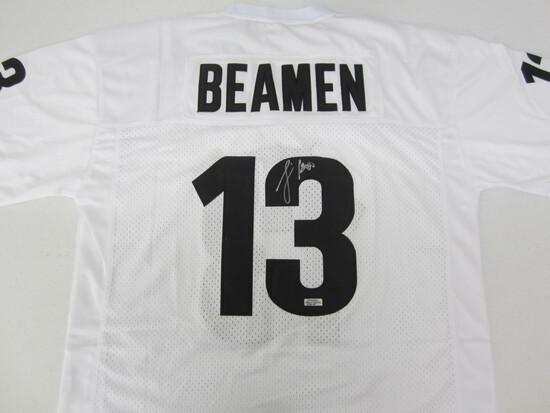 "Jamie Fox signed autographed ""Beamen"" football jersey Certified COA"