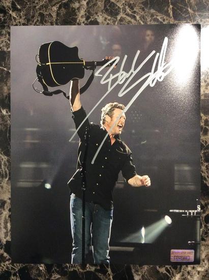 Blake Sheldon Autographed 8+10 Photo with Certified COA