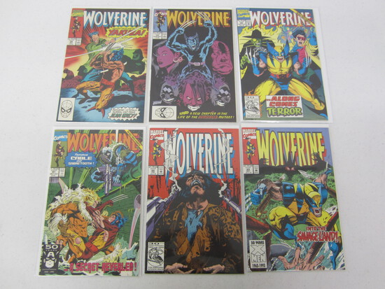 MARVEL COMICS X 6 ALL WOLVERINE'S - SEE PICTURES/DESCRIPTIONS FOR MORE!